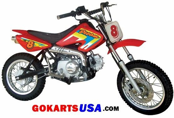 110cc, Electric Start, 4-Speed, Semi Automatic, Hydraulic Disc Brakes, Big Wheels