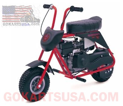 Manco 584B-01 Streaker Minibike 4.0HP Engine, Centrifugal Clutch, Scrub Brake