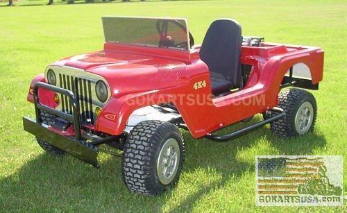 Monster Jeep Gokart
