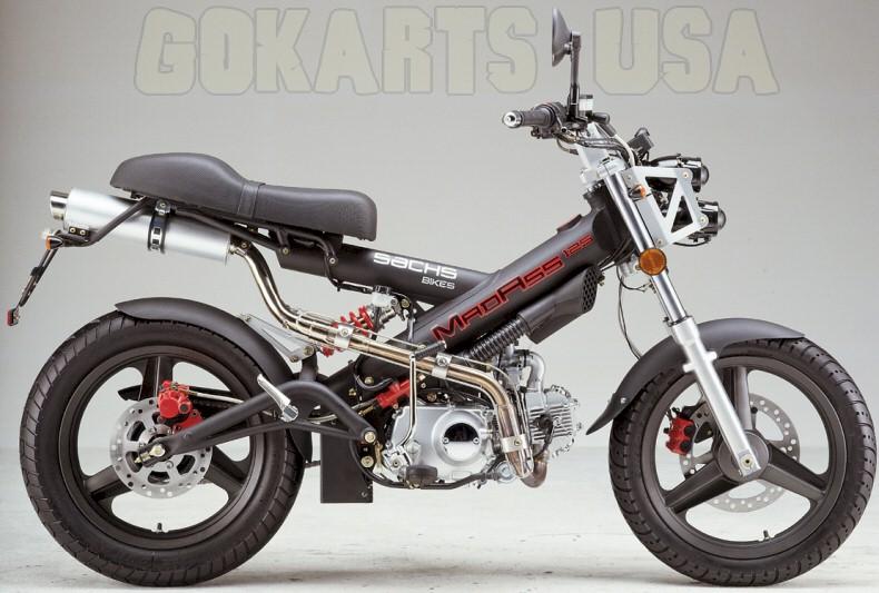 sachs madass 125 motorcycle. Black Bedroom Furniture Sets. Home Design Ideas